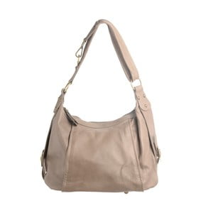 Béžová kožená kabelka Tina Panicucci Petra