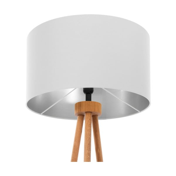 Stojací lampa Light Gray Silver