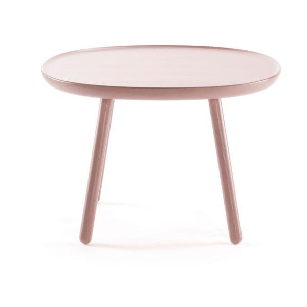 Dřevěný odkládací stolek EMKO Naïve, ⌀64 cm