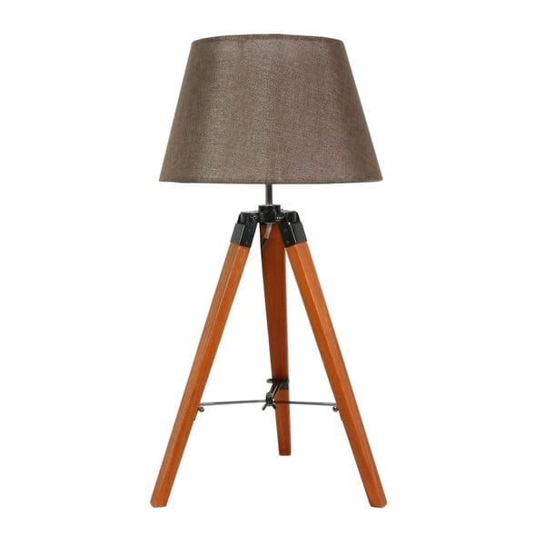 Stolní lampa Lugano Brown