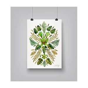 Poster Americanflat Tropical Symmetry, 30 x 42 cm