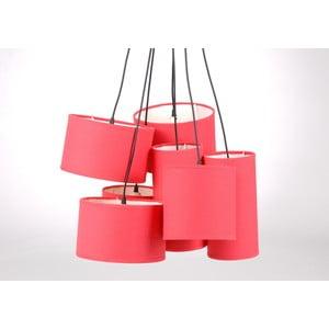 Závěsné světlo Hanging Pink