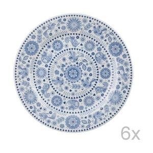Sada 6 ks talířů Penzance Circle, 26 cm