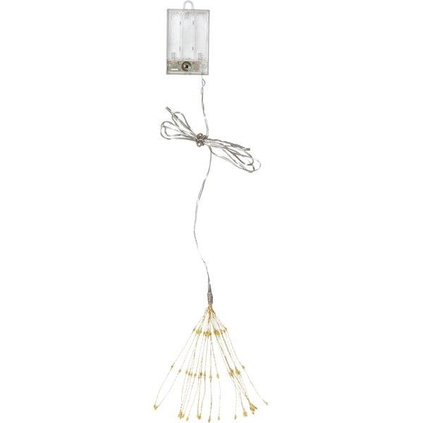 Závesná svietiaca LED dekorácia Best Season Hanging Firework Light Warm, 60 svetielok