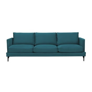 Canapea cu 3 locuri Windsor & Co Sofas Jupiter, turcoaz de la Windsor & Co Sofas