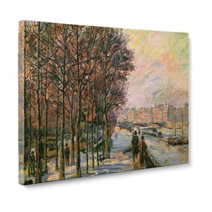 Obraz La Place Valhubert - Armans Guillaumin, 50x70 cm