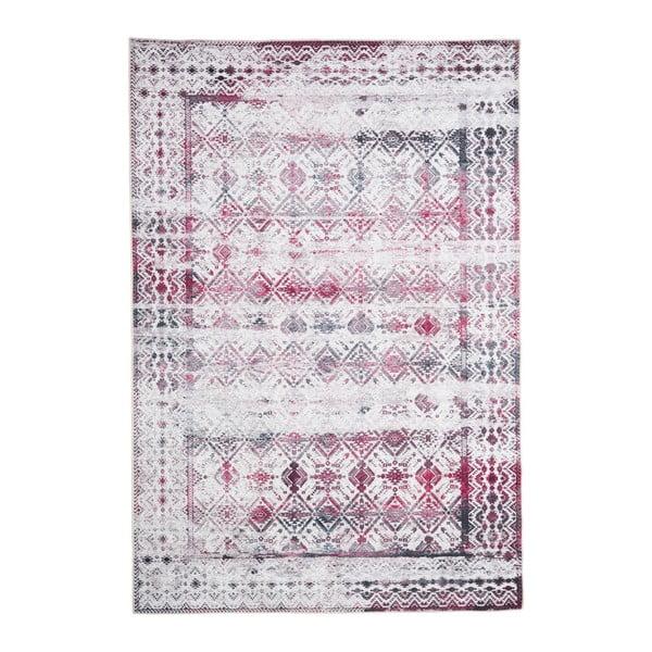 Covor cu rezistență la pete Floorita Kilim Ivory Cherry, 120 x 180 cm
