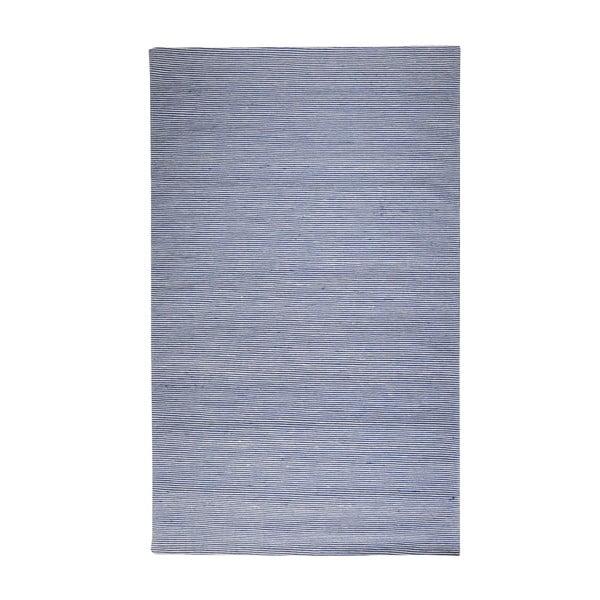Vlněný koberec Casa Blue/White, 160x230 cm