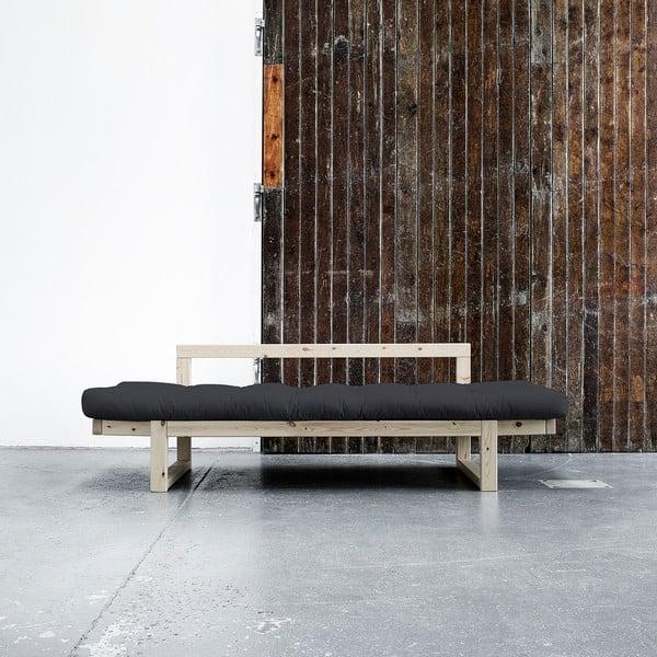 Sofa Karup Edge, přírodní/šedá
