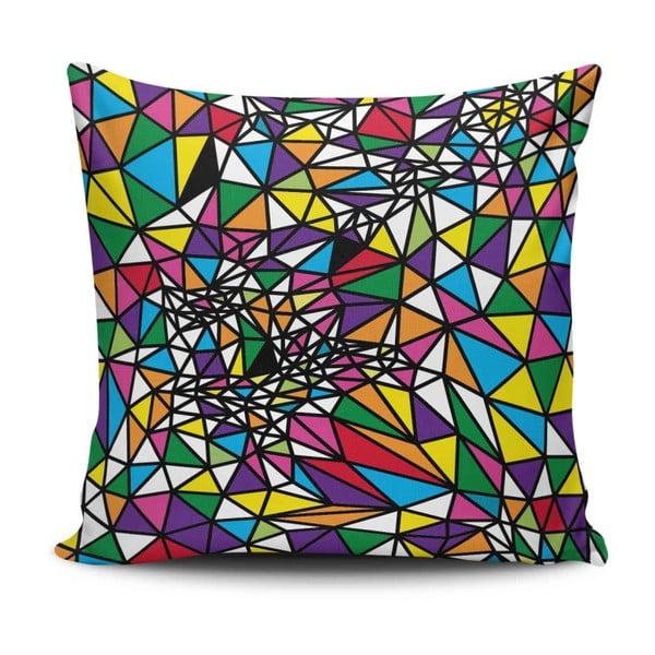 Vankúš s prímesou bavlny Cushion Love Crasso, 45 × 45 cm