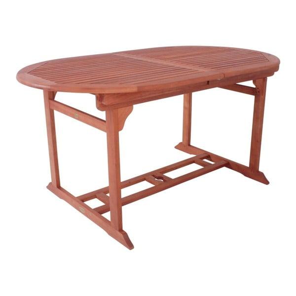Stockholm eukaliptuszfa bővíthető kerti asztal - ADDU