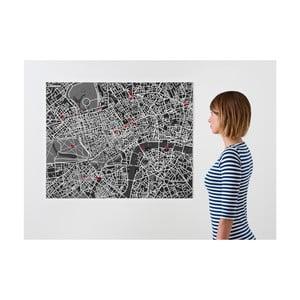 Pin City London, černá