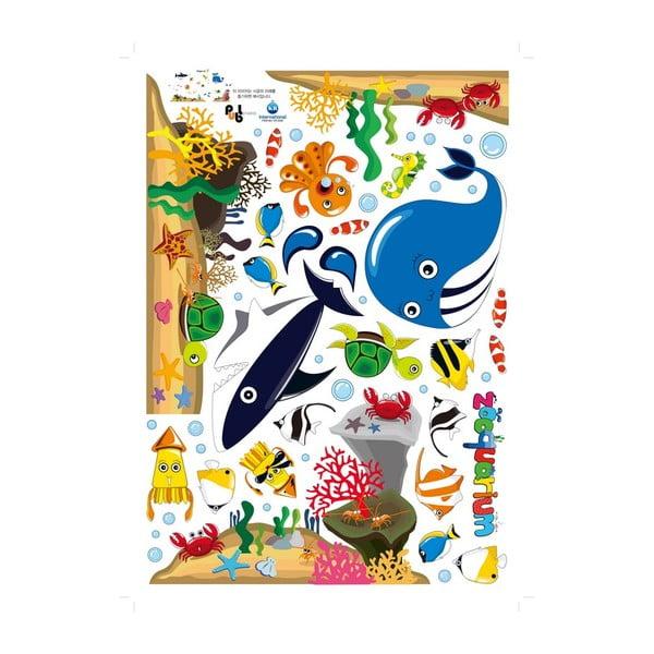 Samolepka Fanastick Whale And Sea Animals