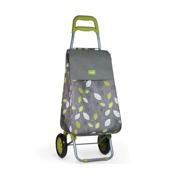 Pojízdná nákupní taška Lemon Grass