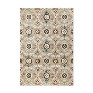 Covor Mint Rugs Diamond Ornament, 200 x 290 cm, albastru