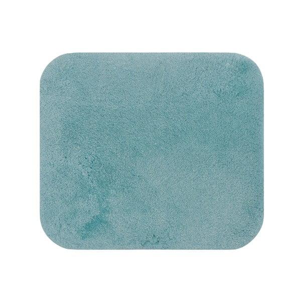 Modrá koupelnová předložka Confetti Miami, 50 x 57 cm