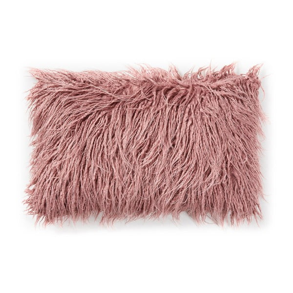 Růžový polštář La Forma Brock, 30x50cm