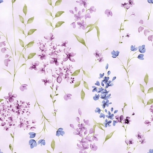 Povlečení Nordicos Violet Lila, 200x200 cm