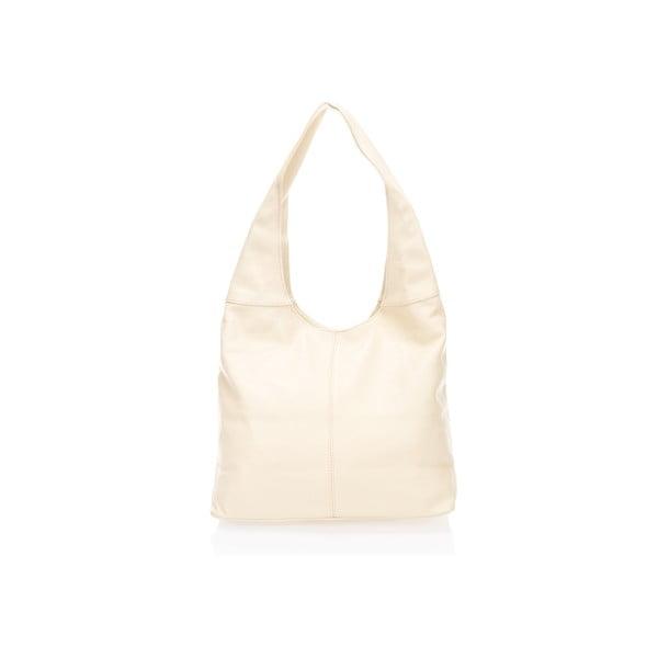 Kožená kabelka Beattie, béžová