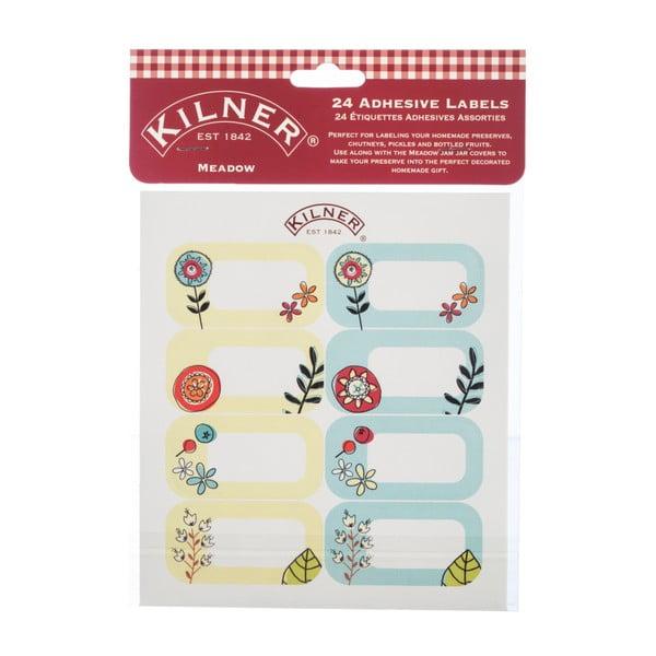 Sada 24 štítků na sklenice Kilner II