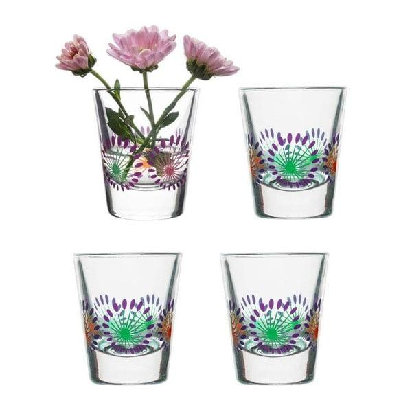Sada 4 fialových skleniček Sagaform Fantasy, 45ml