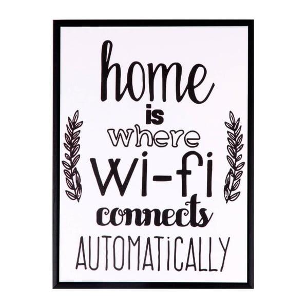 Wifi kép, 30 x 40 cm - sømcasa