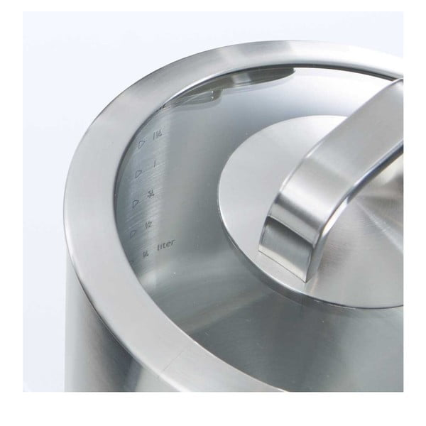 Nerezový hrnec BK Cookware Conical Glass, 18 cm