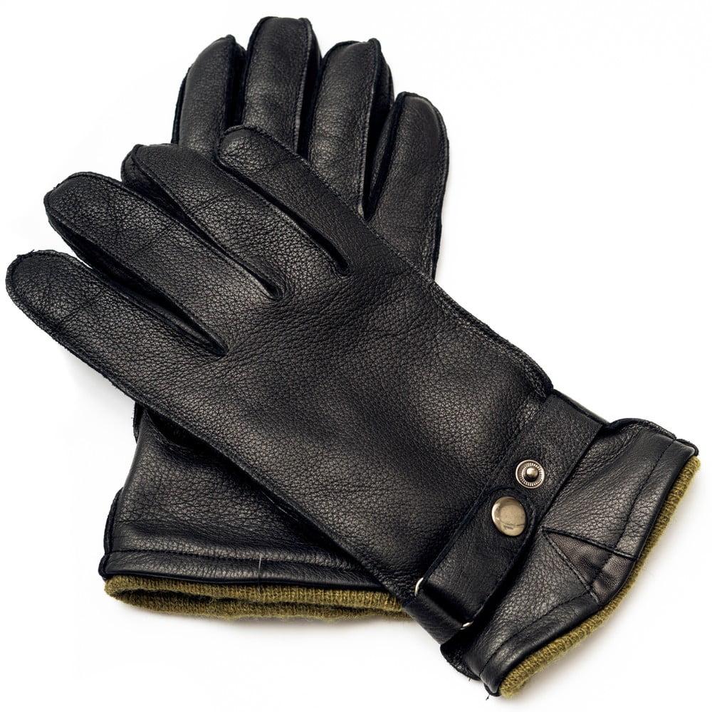 Pánské černé kožené rukavice  br Pride   Dignity ... f22b6adcd0