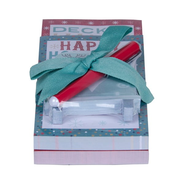 Set bločků a tužky Tri-Coastal Design Happy Holidays