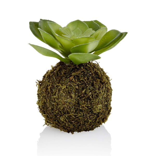 Kokedama din flori artificiale The Mia Green