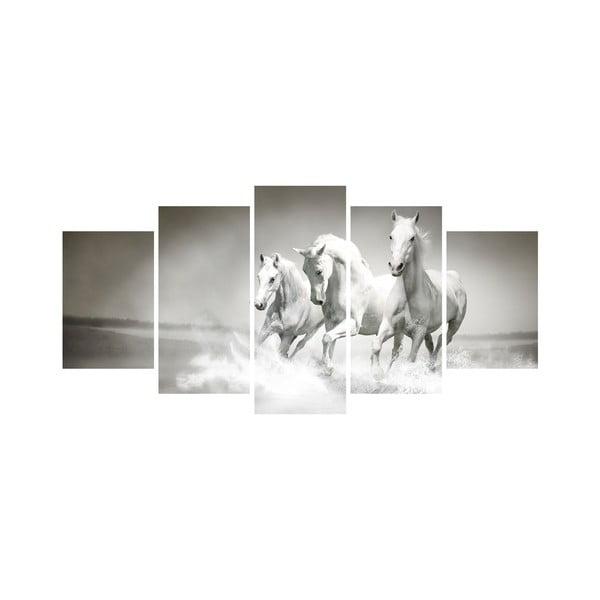 Vícedílný obraz Black&White no. 61, 100x50 cm