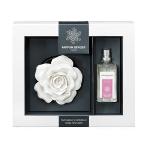 Keramická růže  se sprejem Chic Paris, 30 ml