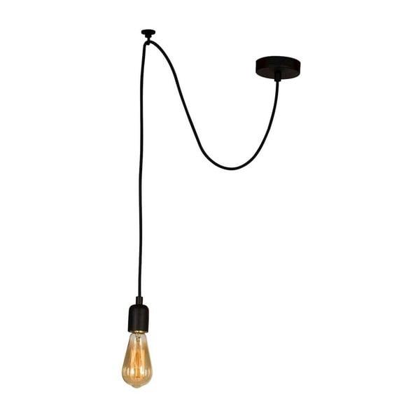 Lustră Wire Hanging Lamp Larro, negru
