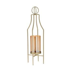 Dekorativní lucerna ve zlaté barvě InArt Magic Lantern, výška 52cm