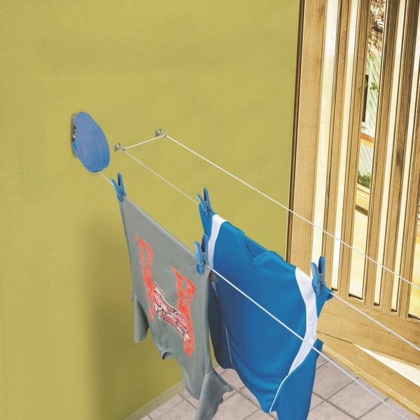Set žehlicí podložky a zatahovací šňůry na prádlo Bonita Bright Txt