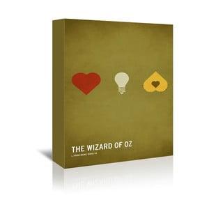Obraz na plátně Wizard of Oz Kid Version With Text od Christiana Jacksona