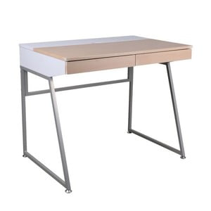 Pracovní stůl B130, bílý