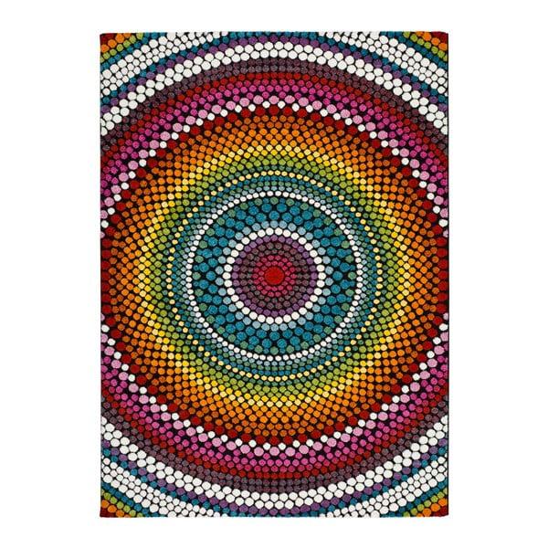 Covor adecvat și pentru exterior Universal Happy Merto, 80 x 150 cm, multicolor