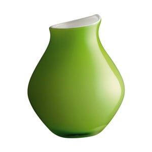 Váza Cherie Green, 21 cm