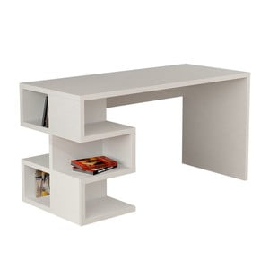 Pracovní stůl Aaron, bílý