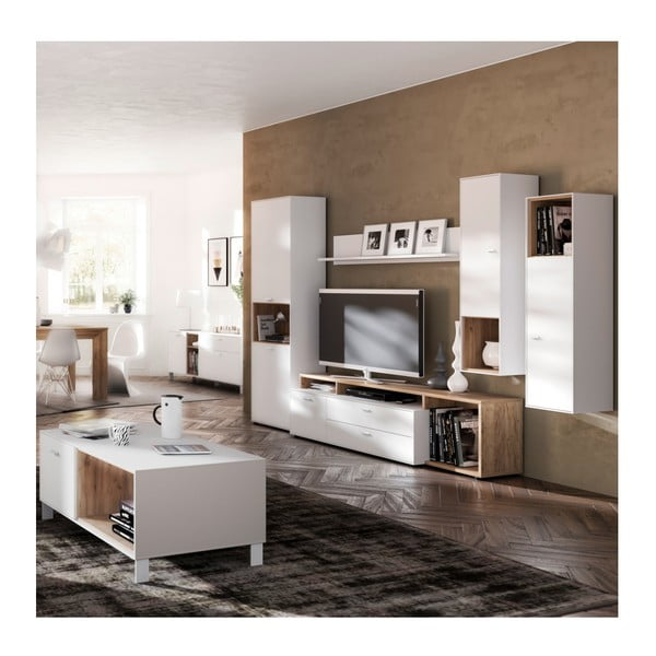 Bílá TV komoda  Germania Design2