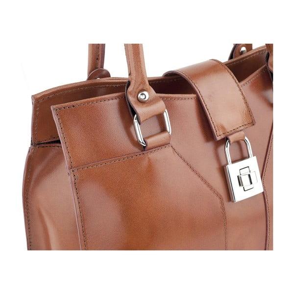 Kožená kabelka Marlene, brown