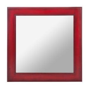 Zrcadlo Wood Mirror Red, 50 cm