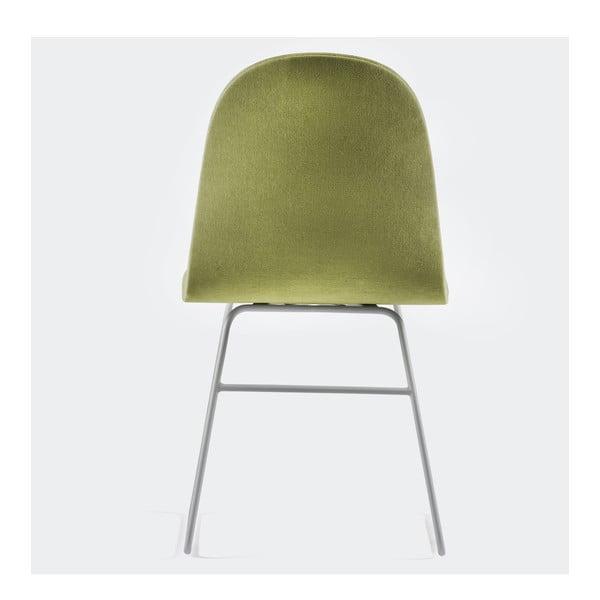 Židle Mannequin V, zelená