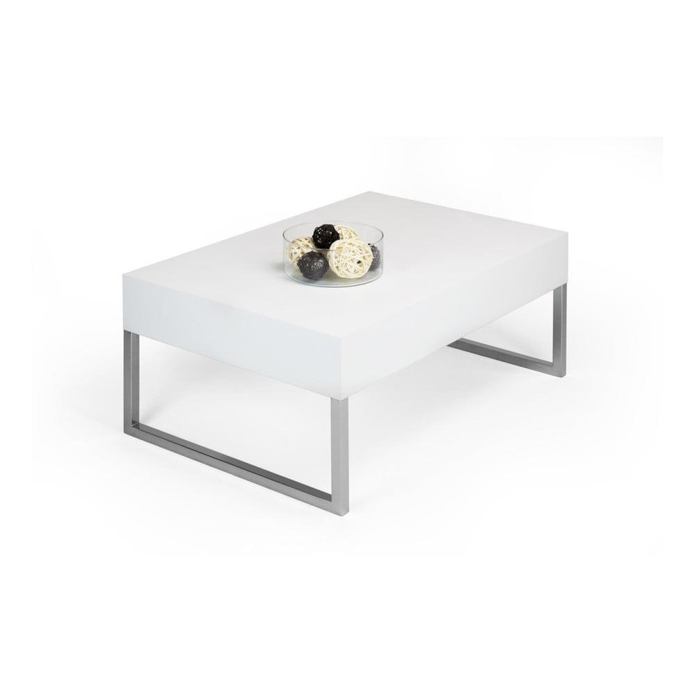 Konferenční stolek v dekoru bílé borovice MobiliFiver Evo XL