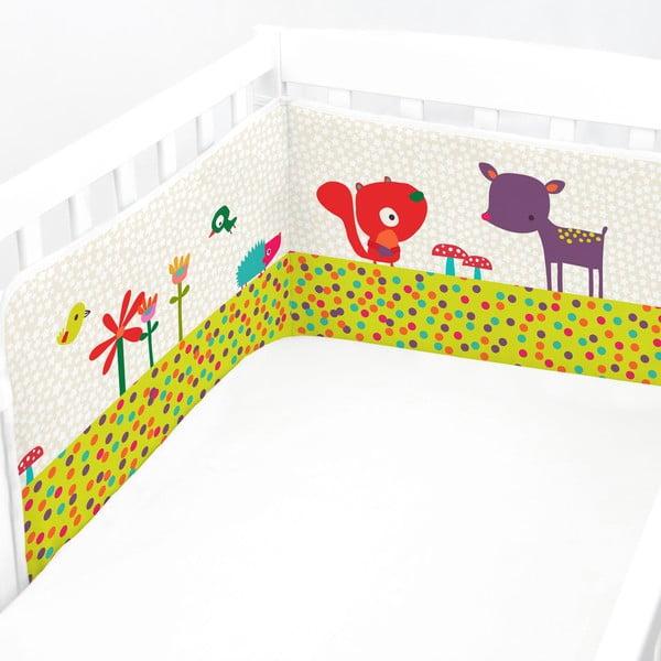 Výstelka do postýlky Forest Friend, 60x60x60 cm