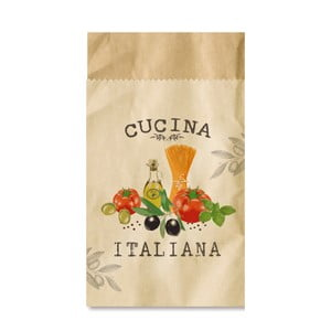 Sada 4 sáčků na příbory PPD Cucina Italiana