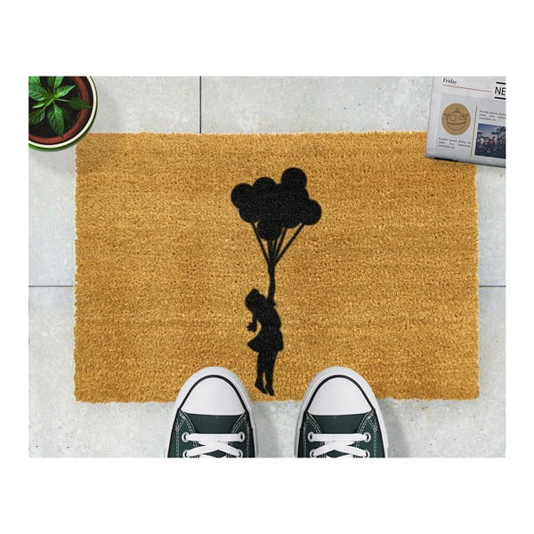 Rohožka Artsy Doormats Flying Balloon Girl,40x60cm