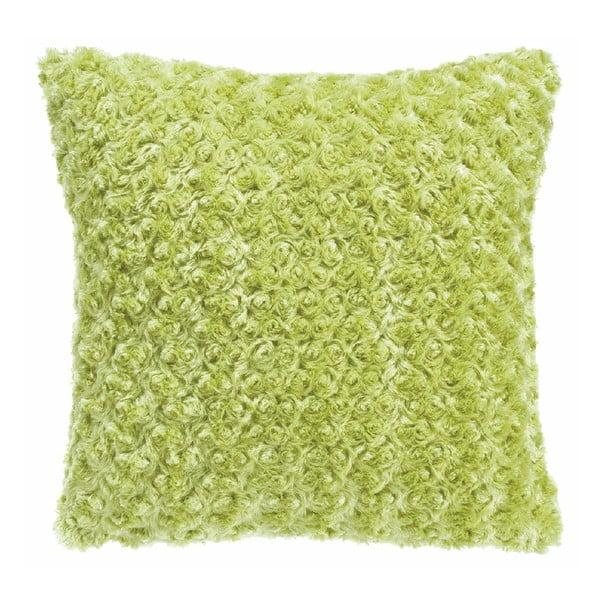 Limetkově zelený polštář Tiseco Home Studio Curl, 45 x 45 cm