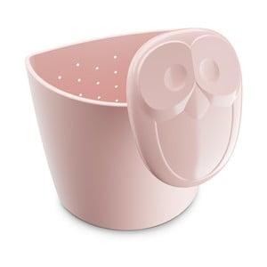 Světle růžové sítko na čaj Tantitoni Owl